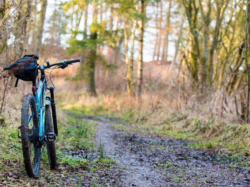 Reivers route mountain bike transport