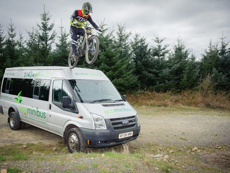 glentress cycle transport from North East Newcastle Hexham Northumberland